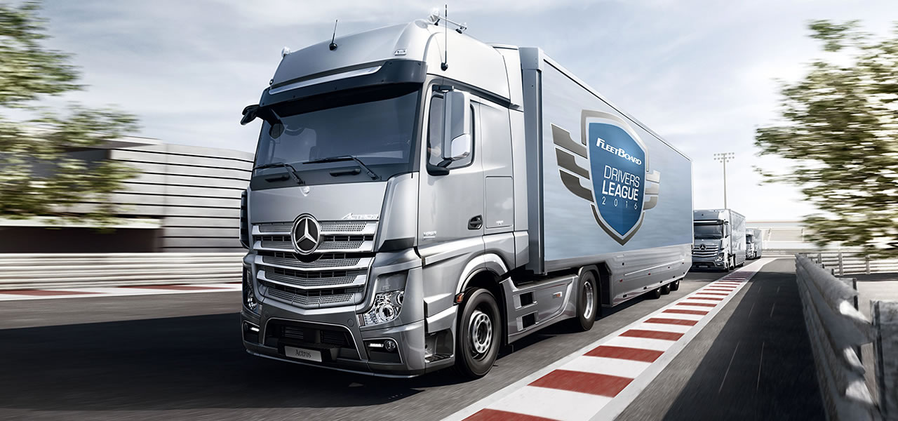 The Hunt Is On For Mercedes Benz Fleetboard S Best Drivers Of 2016