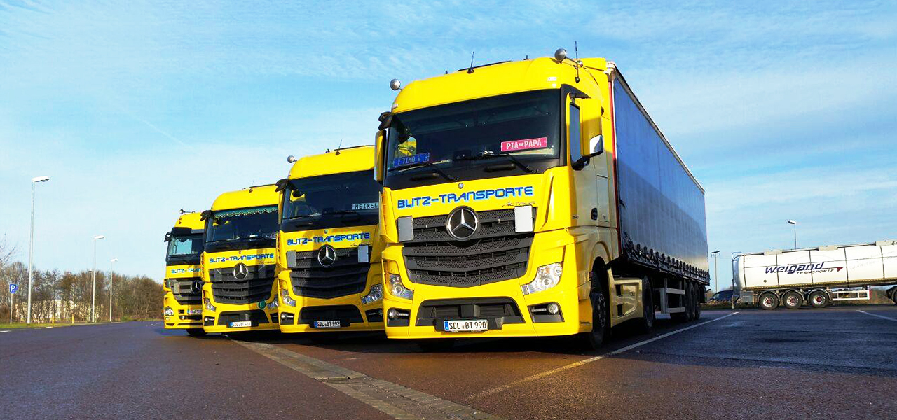 RoadStars presents: Michael Knopf and his bright yellow Actros.