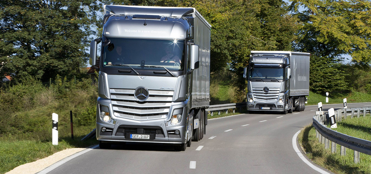 The green truck 2015 goes to the mercedes benz actros for New mercedes benz truck