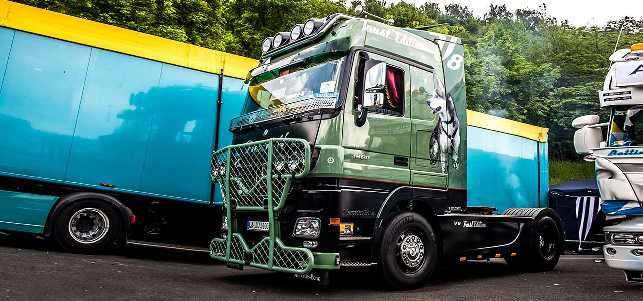 Faszination Show Truck – Unzählige Arbeitsstunden ...