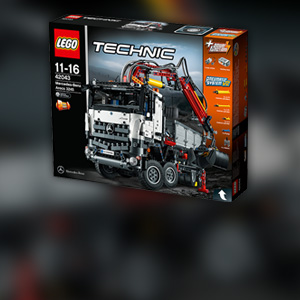 Lego technic mercedes benz arocs 3245 tipper roadstars - Jeux de construction lego technic ...