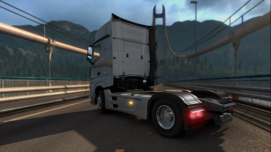 Euro Truck Simulator 2 Now With The New Mercedes Benz Actros