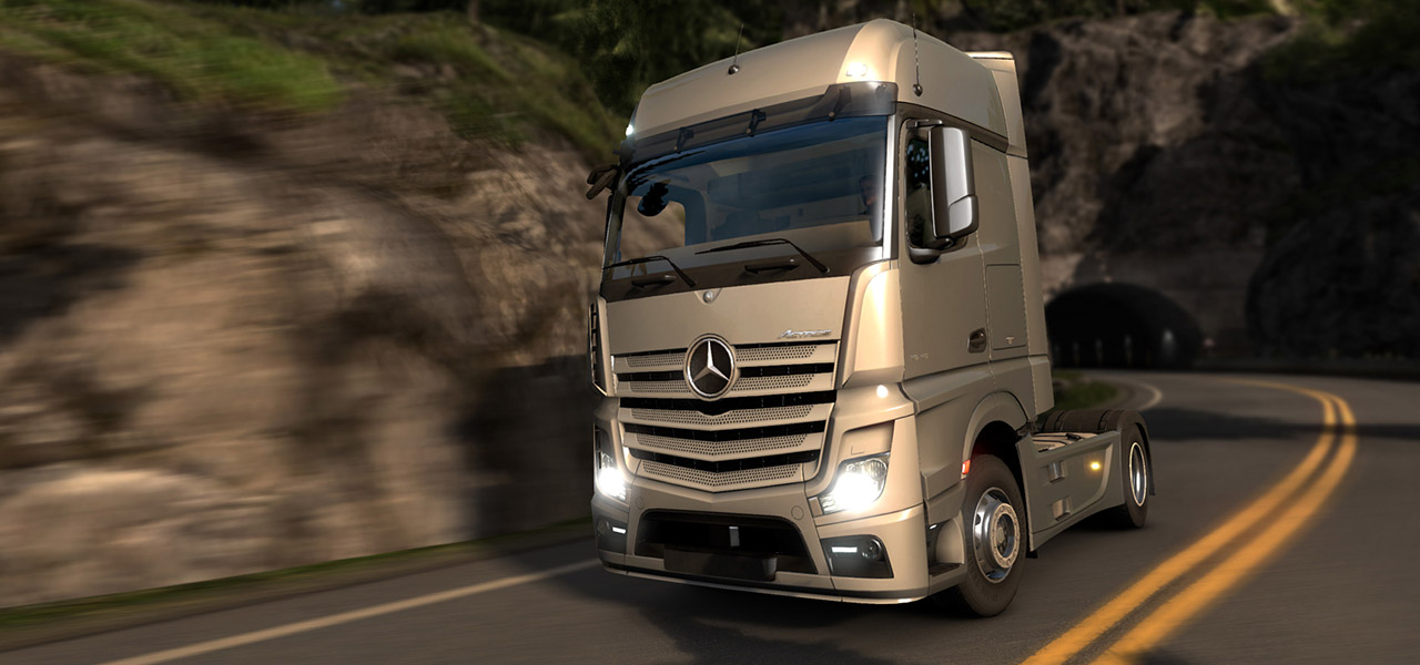 Euro truck simulator 2 now with the new mercedes benz for The new mercedes benz truck