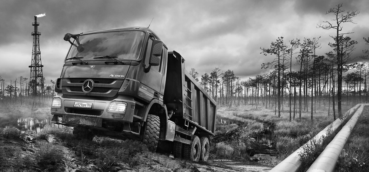 International taskforces der mercedes benz trucks for Mercedes benz calendar