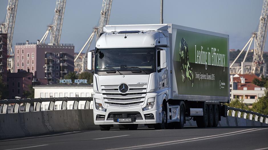 Mercedes-Benz Actros: wirtschaftlich und umweltschonend ...