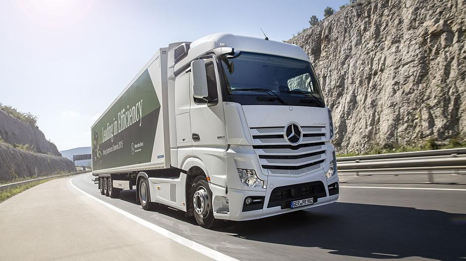 Mercedes-Benz Actros: economical and environmentally