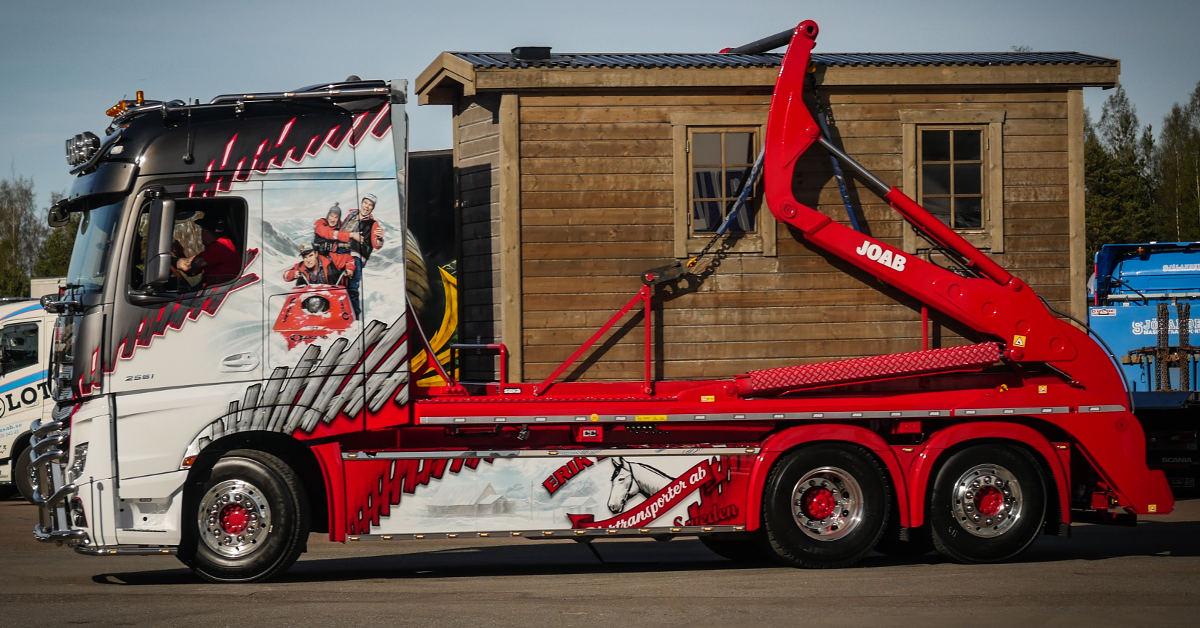 Saunaliner: el primer camión del mundo con sauna integrada - RoadStars