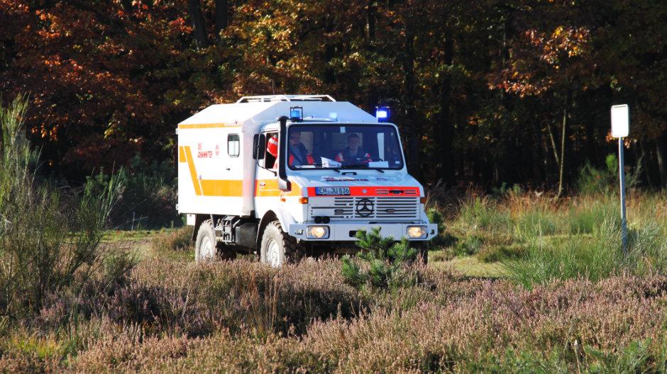 Unimog Im Einsatz Bei Neuer Johanniter Katastrophenschutz Einheit