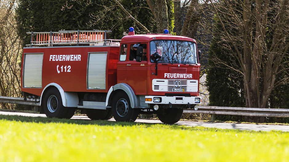 Perfectly suited for long-distance travel: Stefan Klute's LPK 1626 has been a fire engine since 1974.
