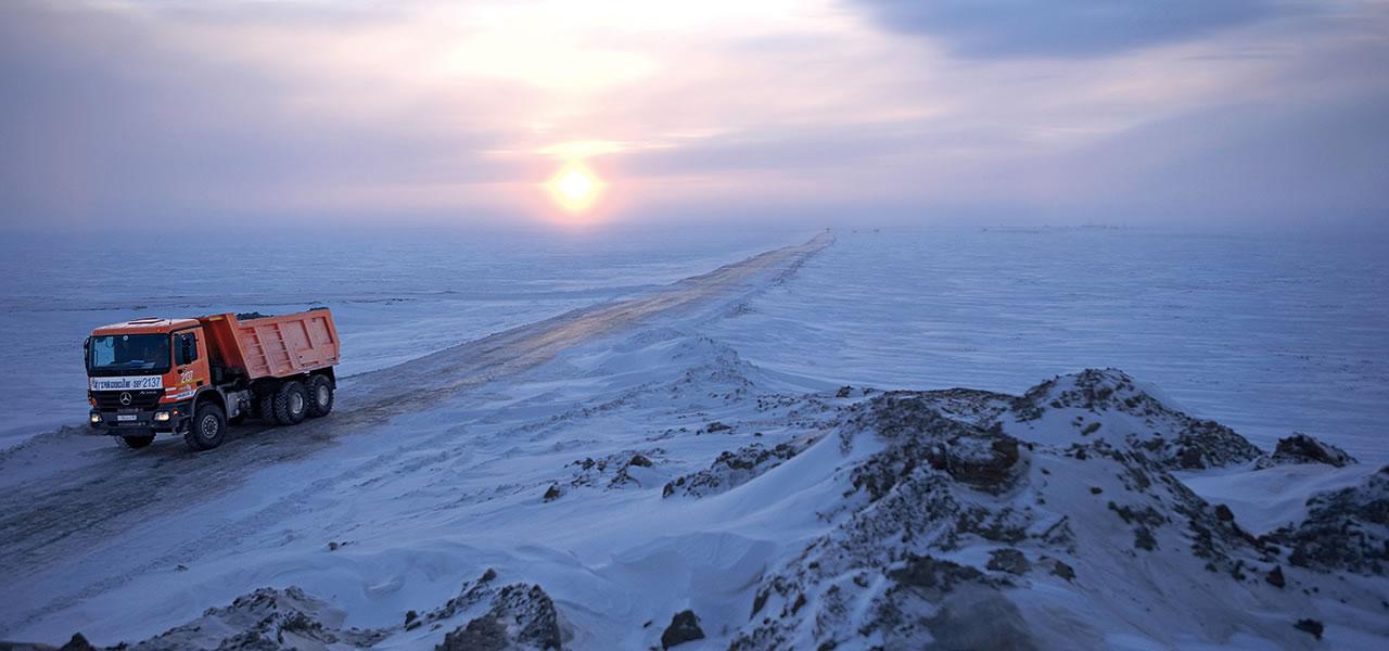 Custom All Stars >> Favourite picture: Road construction in Siberia - RoadStars