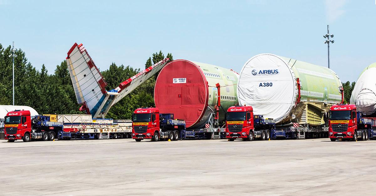 Le Transport De Pi 232 Ces D Airbus A380 Roadstars