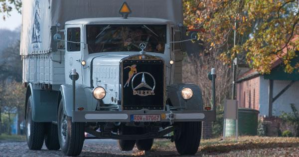 Kantet karakter l 6500 fra 1935 roadstars for Mercedes benz 6500