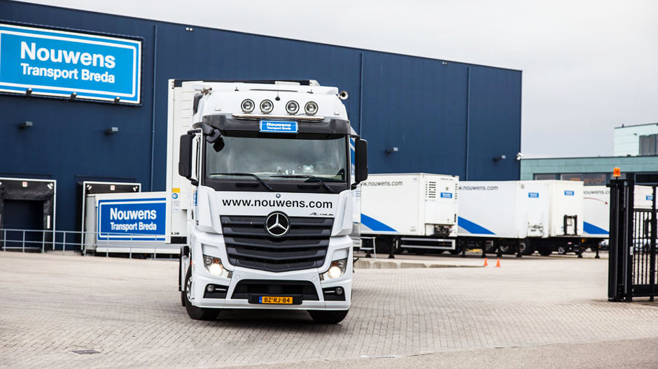 Eye-catching. Nouwens scores today with top-performing fleet and prestigious headquarters.