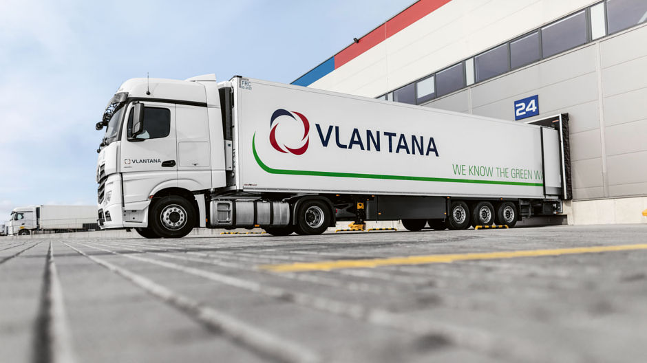 Economical fleet. With the addition of the new Actros to its vehicle fleet, Vlantana has been able to lower the overall diesel consumption of its fleet by almost three litres per 100 kilometres.