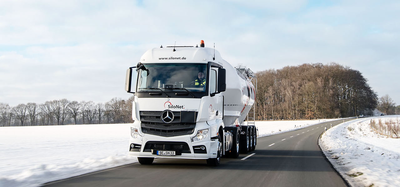 Cement logistics company SiloNet relies on RoadEfficiency from