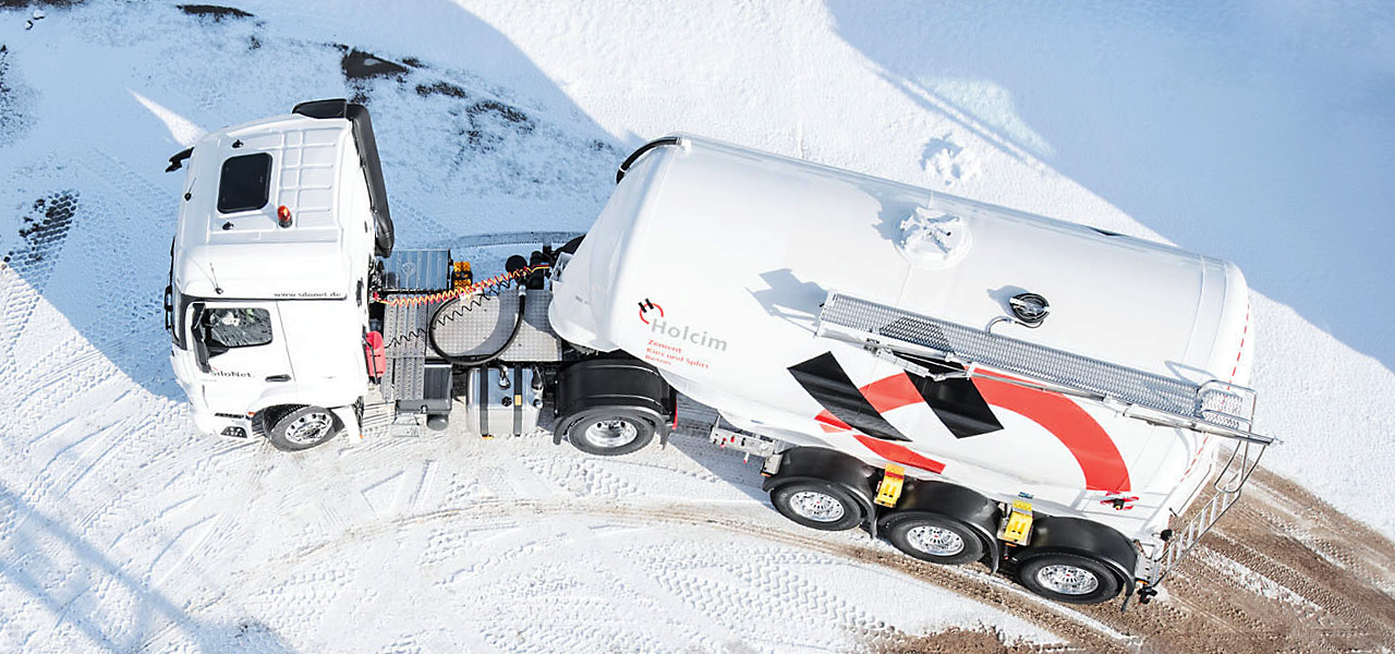 Cement logistics company SiloNet relies on RoadEfficiency