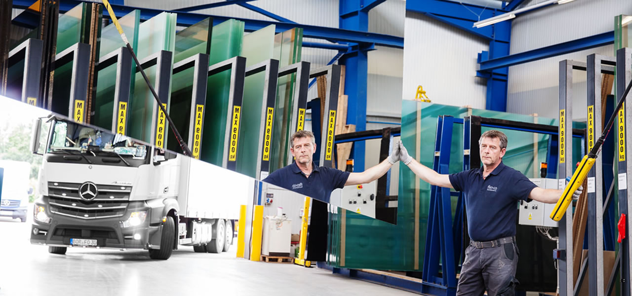 Flexo Raumsysteme reduces logistics costs by 50 percent with its own fleet.