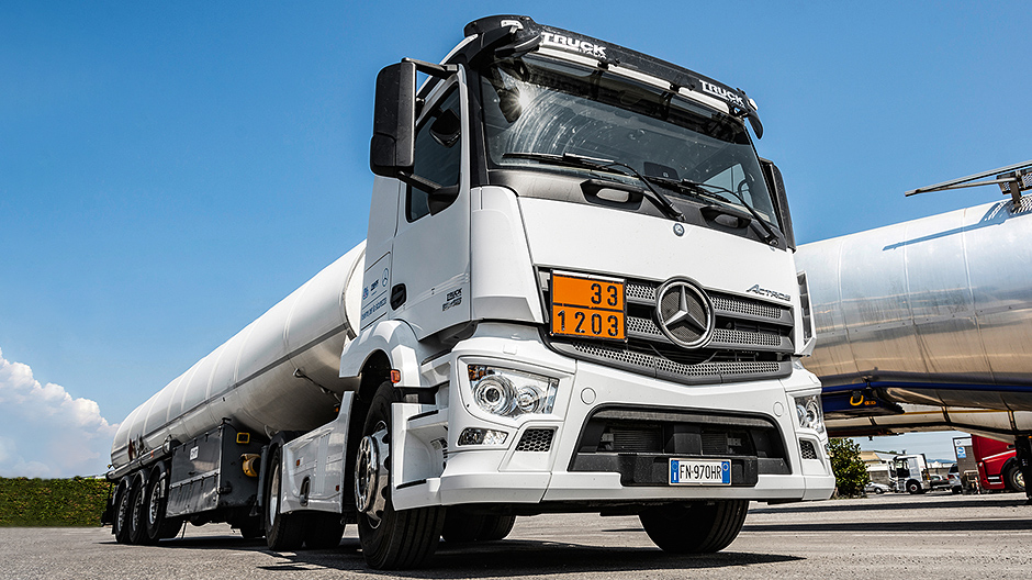 Fuel for Tuscany: the Actros Loader impresses across the board