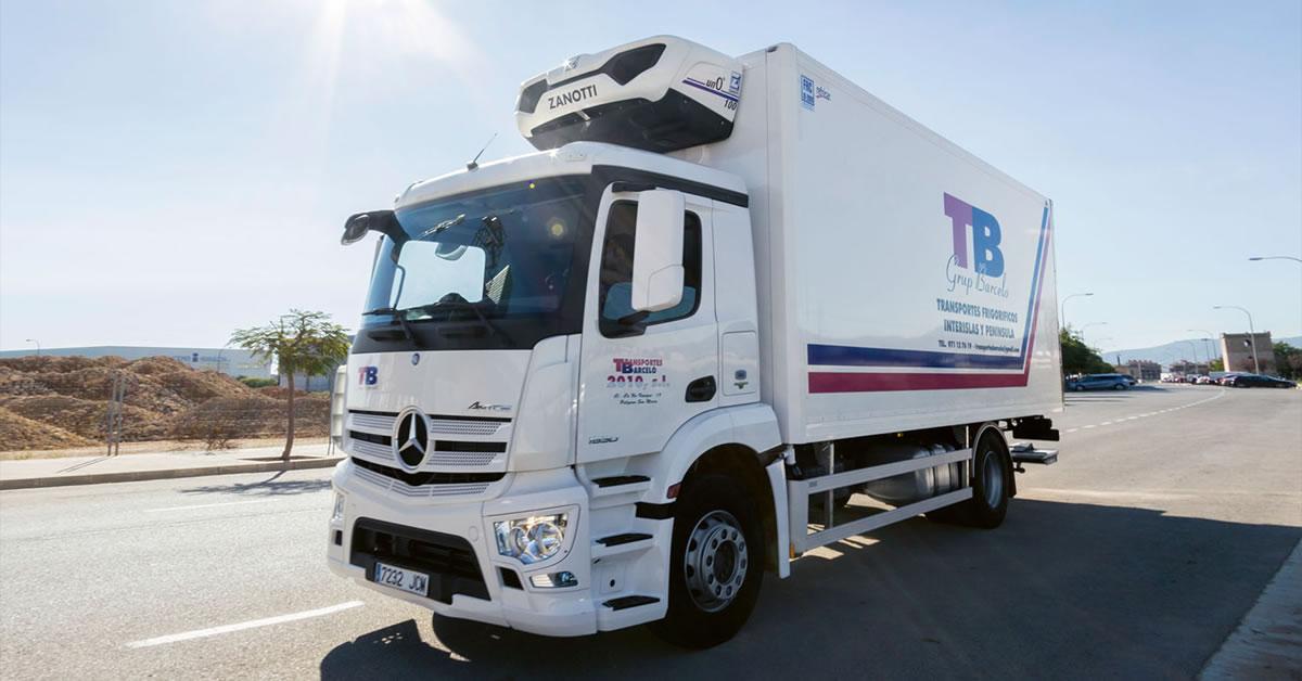 Transportes barcel versorgt superm rkte auf mallorca - Transportes menorca ...
