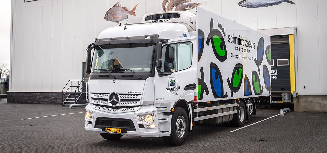 Food logistics: Schmidt Zeevis puts its trust in trucks with