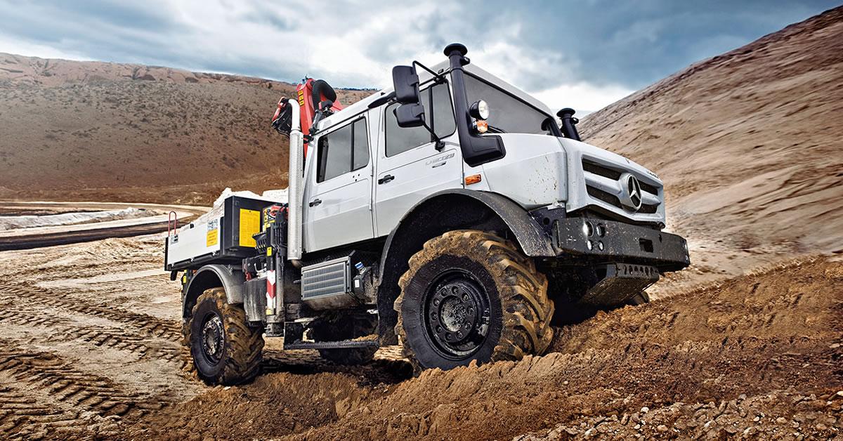 Vehicle Versions Crewcab For Unimog U 4023 And U 5023