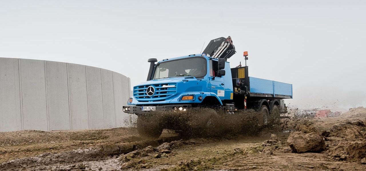 Grondwaterverlaging Een Taak Voor De Zetros Roadstars