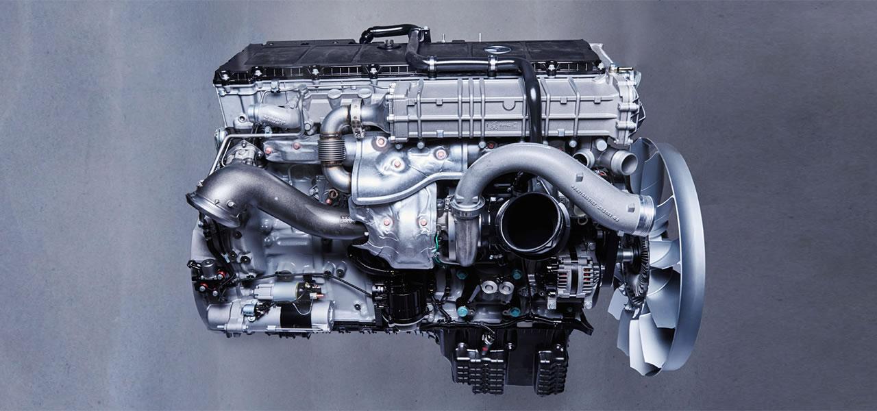 Moteur Mercedes Om