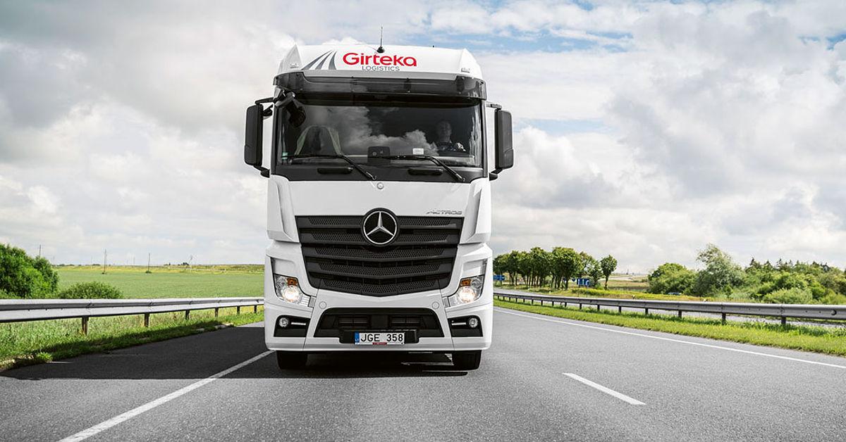 Girteka logistics schrieb mit klugem management eine gigantische