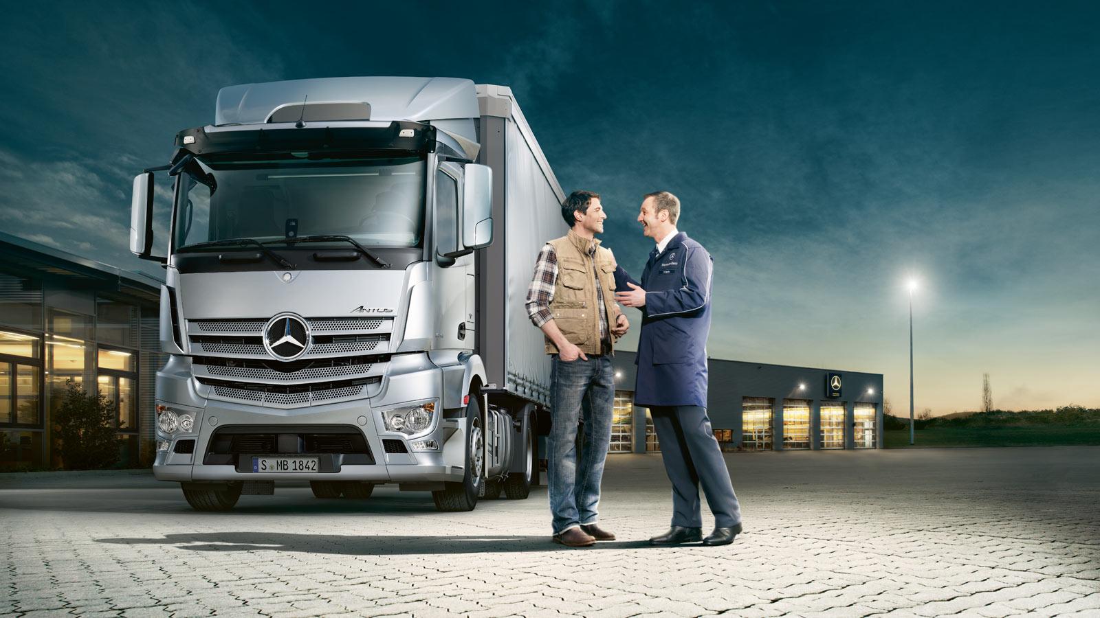 Services roadstars for Mercedes benz salesman
