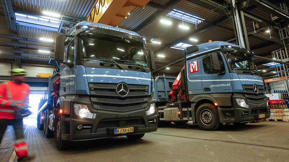 Lemvigh-Müller kører kun Mercedes – med FleetBoard. - RoadStars