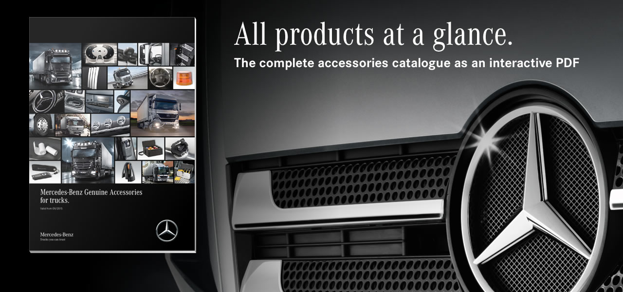 Genuine accessories roadstars for Mercedes benz parts and accessories online