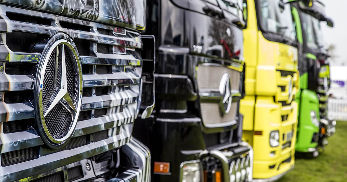 Actros Through The Ages Roadstars