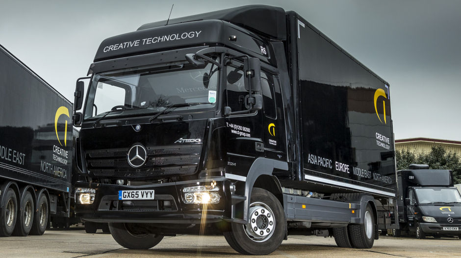Mercedes Benz Specialist Eye Catching Mercedes Benz Atego