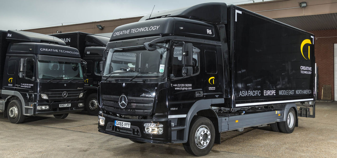 "Ogromny Eye-catching Mercedes-Benz Atego is ""black magic"" for Creative LH67"