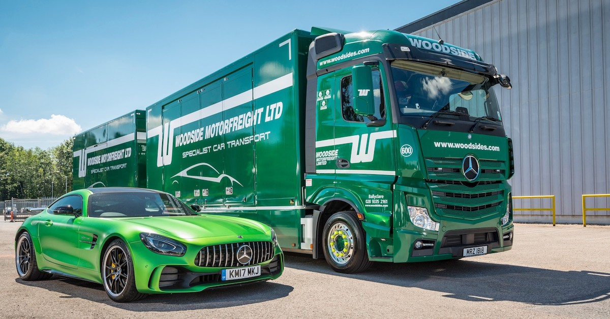 Actros delivers the stunning mercedes amg gt r roadstars for Queens mercedes benz dealers
