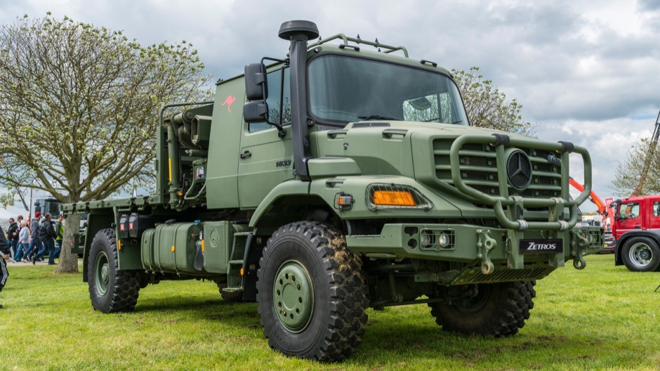 The rare Mercedes-Benz Zetros also made an appearance at Truckfest.