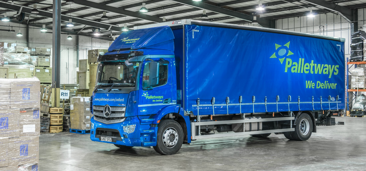 Mercedes-Benz brings more than just new trucks to Palletways..