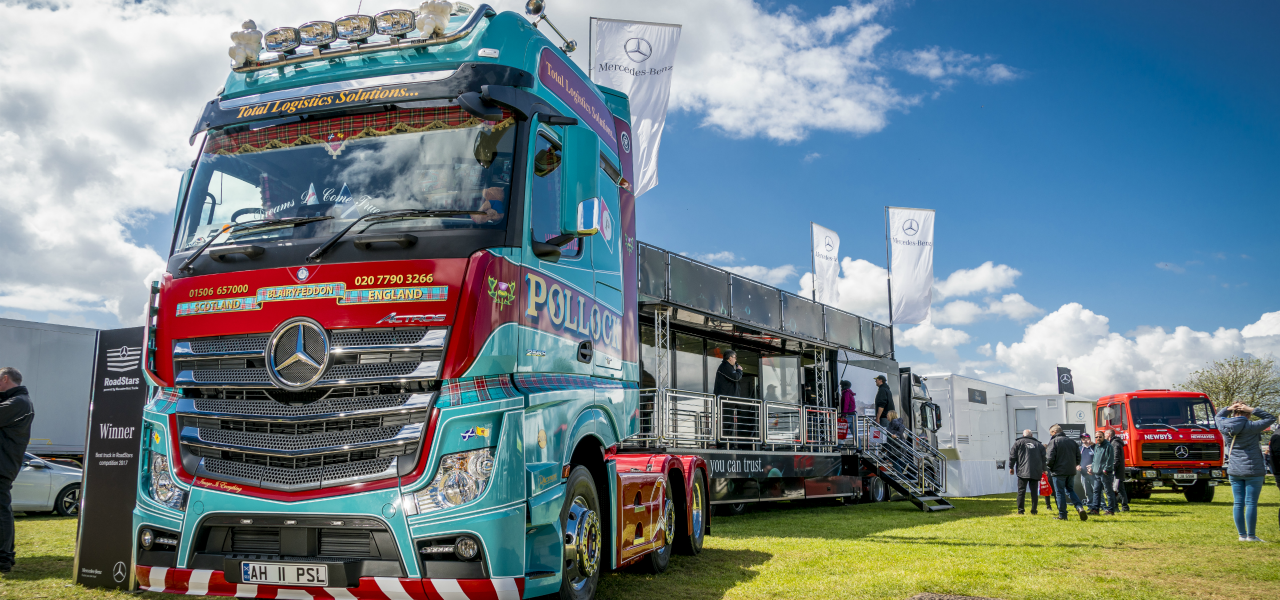 Win a place for you and your truck at Truckfest.