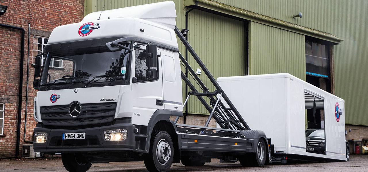 The new Atego light rigid truck range - RoadStars