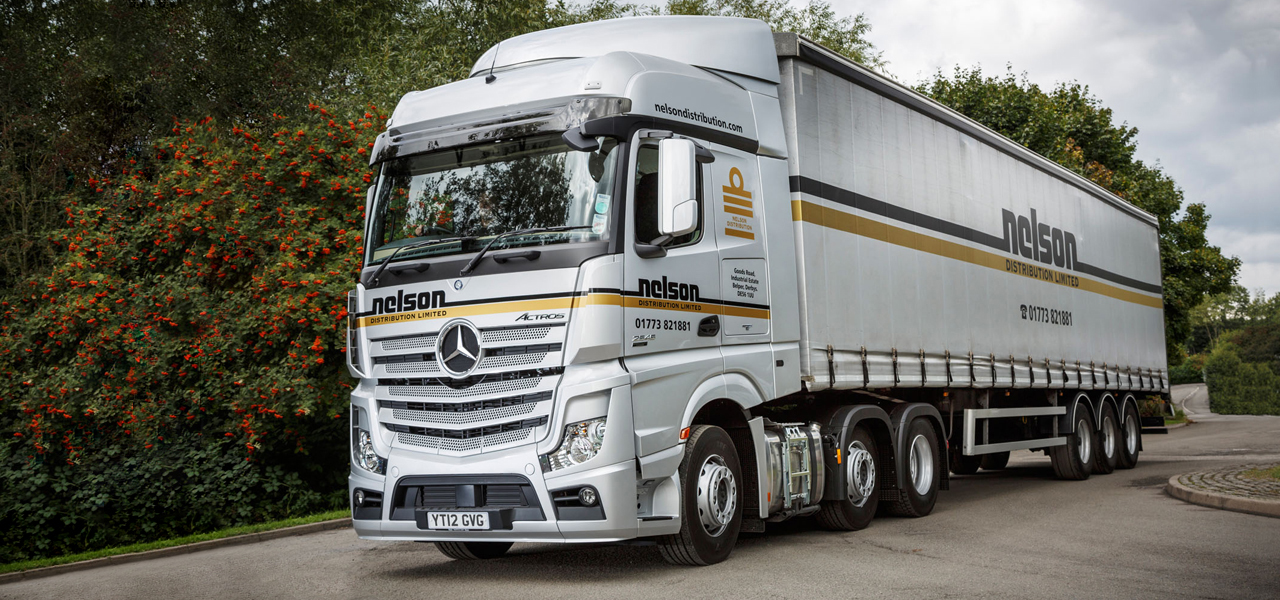 The Second life of a New Actros at Nelson Distribution