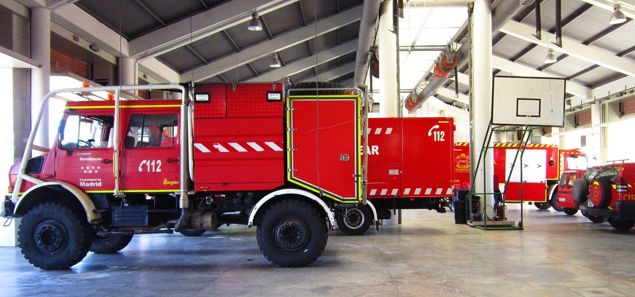 Resultado de imagen de bomberos comunidad de madrid