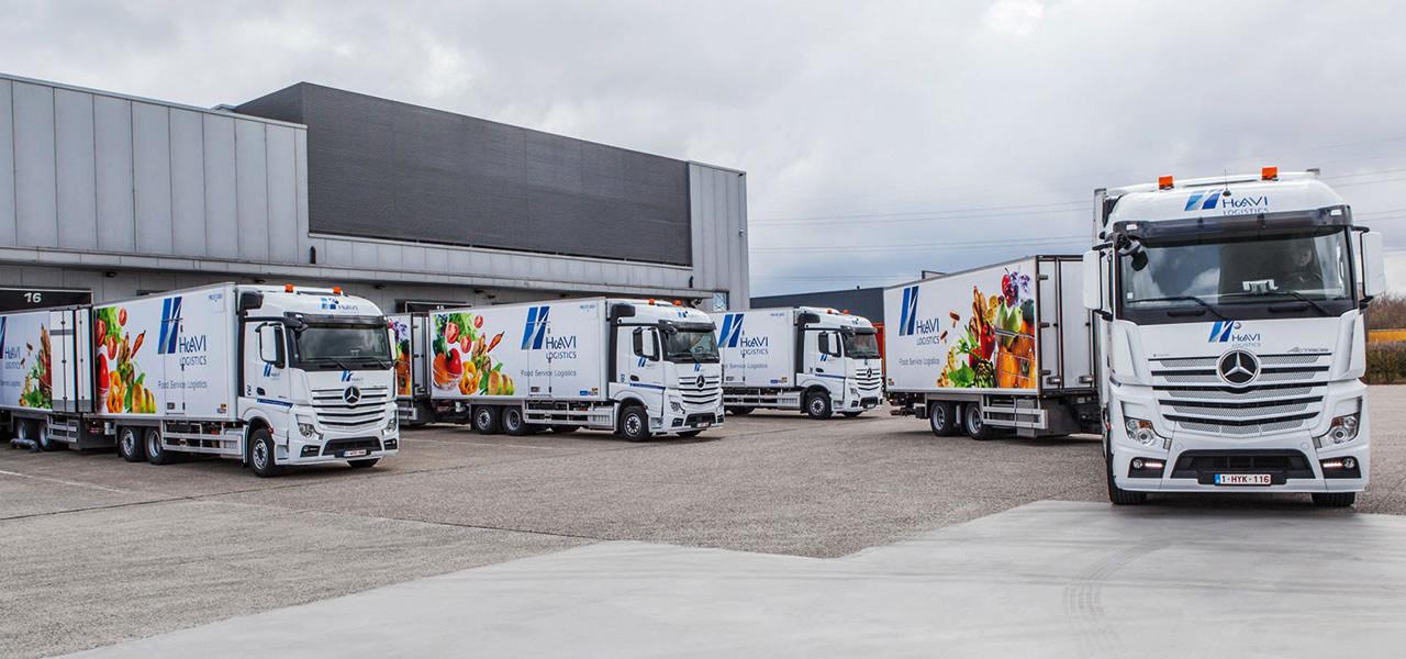 Camion frigorifique : l'Actros chez Havi Logistics - RoadStars
