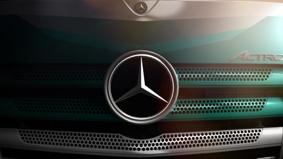 De actros silver star edition een tipje van de sluier for Mercedes benz silver star