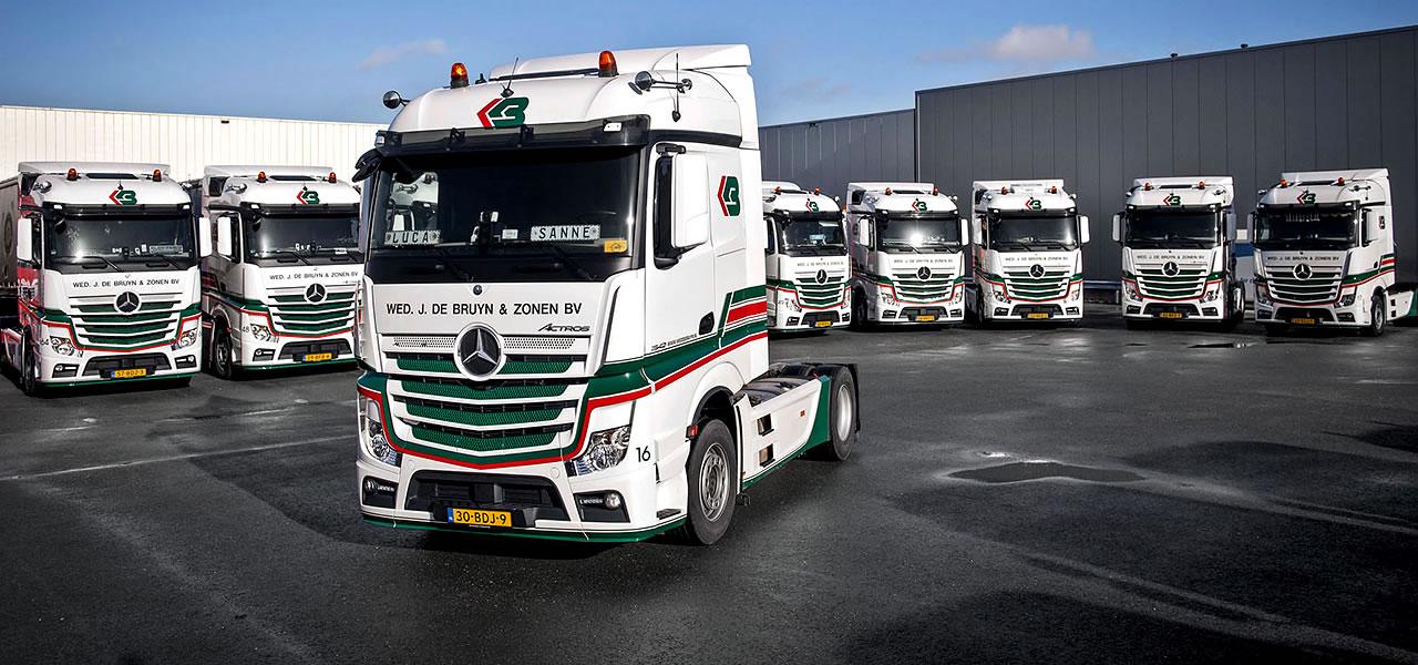 De Bruyn Koeriers.Transportbedrijf Albert Keijzer Profiteert Van De Actros Roadstars